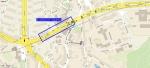 Pěší trasa od autobusových zastávek Kobylisy do Ordinace