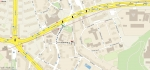 Pěší trasa od tramvajové zástávky Kobylisy do Ordinace